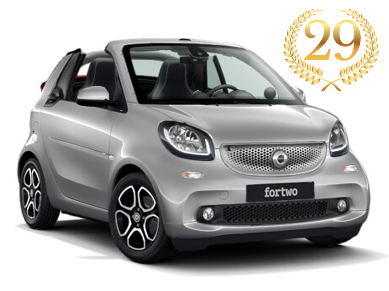 smart fortwo cabriolet prime 66kW